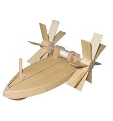 Holzschiffchen Forelle