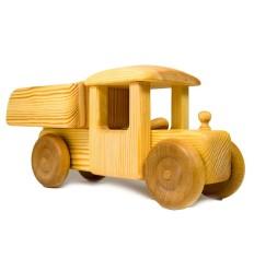 Großer Laster mit Kippe - Holzauto