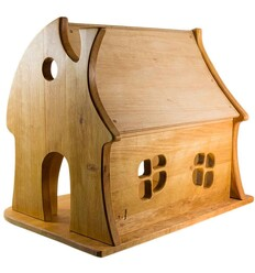 Märchenhaus Puppenhaus aus Holz - Verneuer