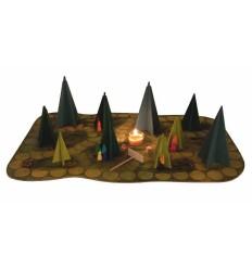 Kraul Märchenhaftes Waldschattenspiel