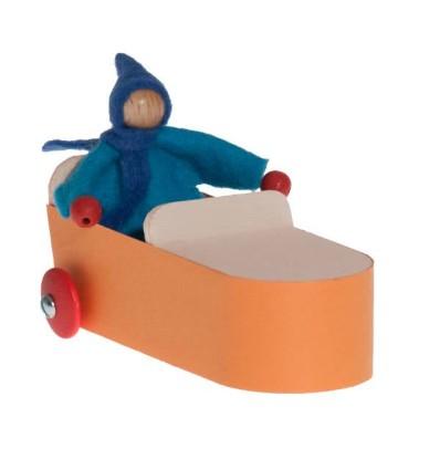 Kraul Wendolin - Auto mit Fahrer-Öko Spielzeug-Spielplatz & Schwimmen