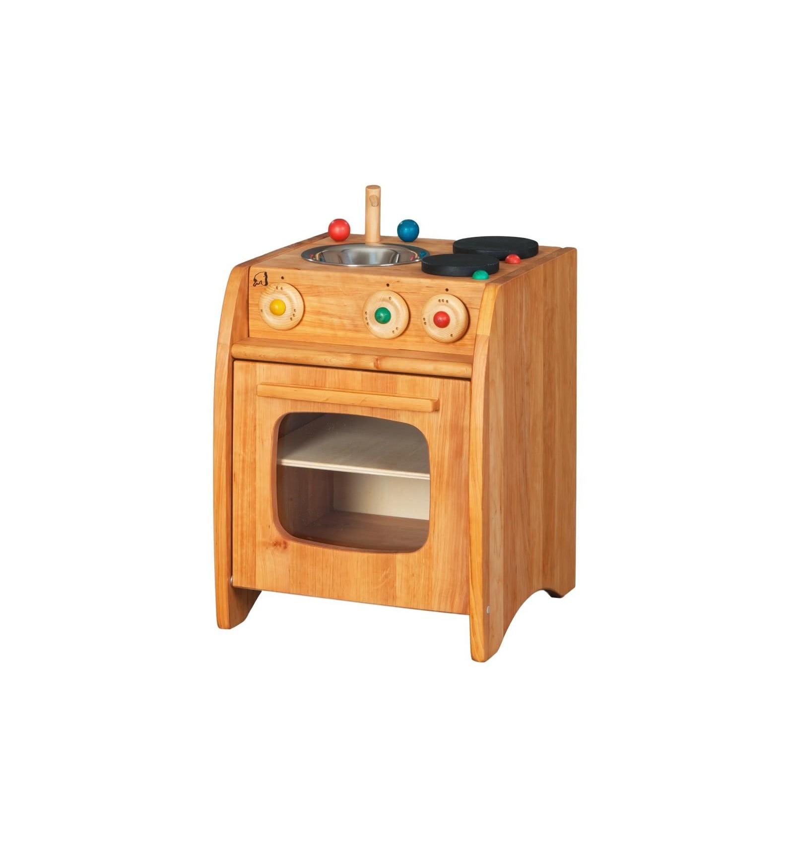 Holzkuchen erle jcoolercom for Kinder holzküchen