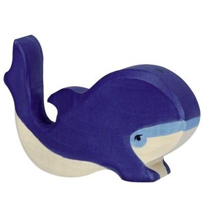 Holztiger Blauwal  klein