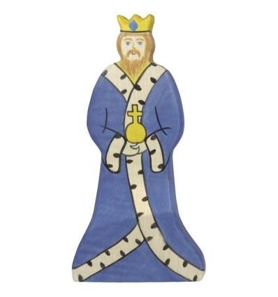 Holztiger König