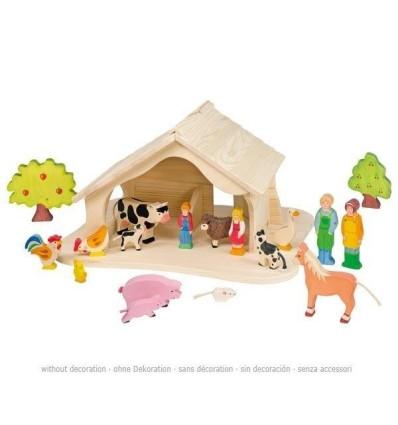 Holztiger Puppenhaus