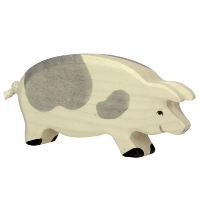Holztiger Schwein  gefleckt