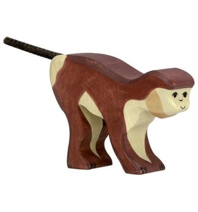 Holztiger Affe