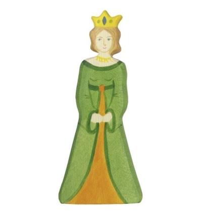Holztiger Königin