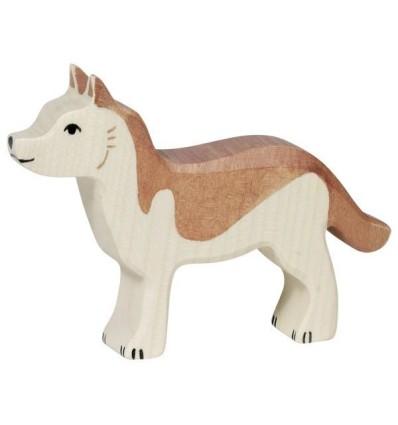 Holztiger Schäferhund