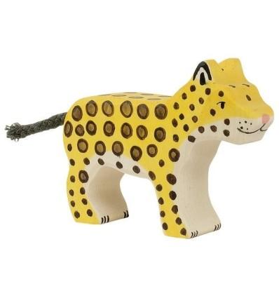 Holztiger Leopard  klein