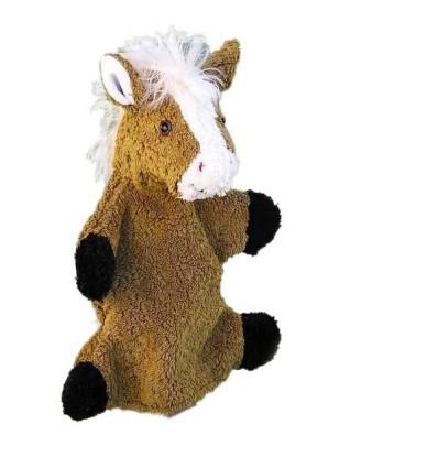 Kallisto Handpuppe Pferd-Öko Spielzeug-Stofftiere-Kuscheltiere