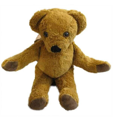 Kallisto Bär Schnuckel  braun-Öko Spielzeug-Stofftiere-Kuscheltiere