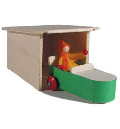 Wendolins Auto Garage Bausatz - Kraul-Öko Spielzeug-Spielplatz & Schwimmen