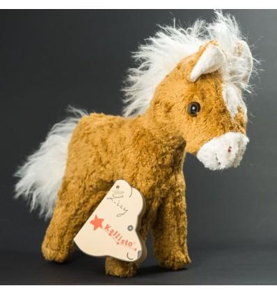 Kallisto Lilly Pferd Fohlen-Öko Spielzeug-Naturspielzeug