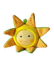 Nanchen Rassel Kreisel Ringelblume-Öko Spielzeug-Babies
