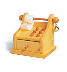 Kaufladen-Kasse - Spielwelt Bioladen-Öko Spielzeug-Holzspielzeug