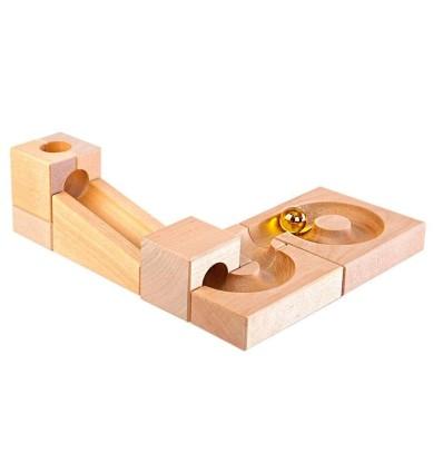 Kugelbahn Erweiterungs-Set II-Öko Spielzeug-Holzspielzeug