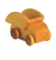 Holzauto - Kleiner Kipplaster-Öko Spielzeug-Naturspielzeug