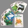 Kraul Kinder Kartenspiel Tierquartett-Öko Spielzeug-Naturspielzeug
