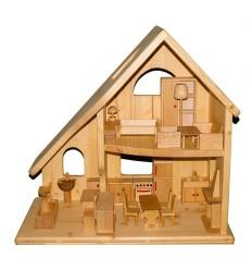 Puppenhaus - 2-stöckig