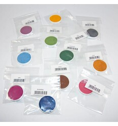 Nachfüllset Wasserfarbkasten Einzelfarben - nawaro Ökonorm-Öko Ersatz Wasserfarben