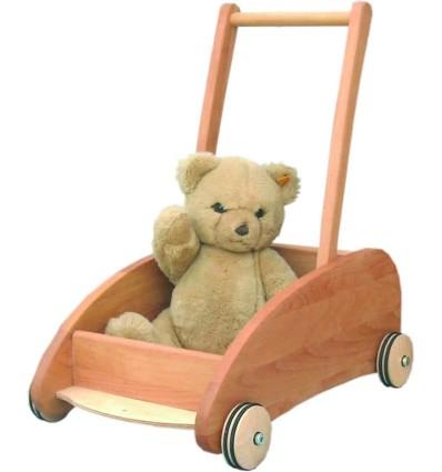 Verneuer Lauflernwagen mit Bremse-Öko Spielzeug-Naturspielzeug