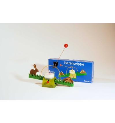 Kraul Waldorfspielzeug Lichtwippe mit Hasen-Öko Spielzeug-Spielplatz & Schwimmen