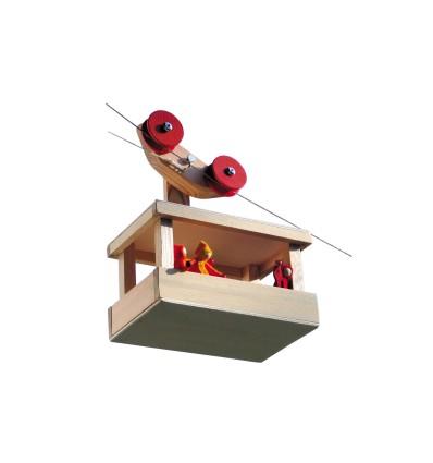Kraul Waldorfspielzeug Große Seilbahn-Öko Spielzeug-Spielplatz & Schwimmen