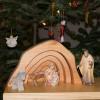 Weihnachten Waldorf Krippe klein-Öko Spielzeug-Holzspielzeug