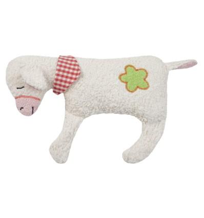 Efie Kirschkern-Wärmekissen Schäfchen mit Blümchen-Öko Spielzeug-Babies