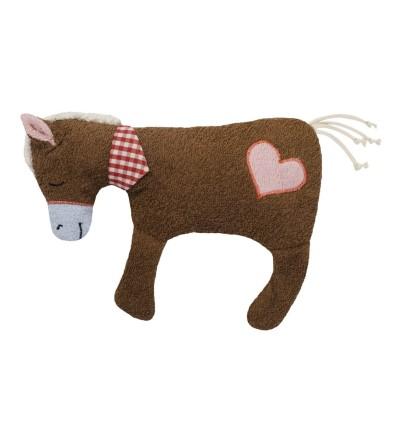 Efie Kirschkern-Wärmekissen Pferd mit Herzchen-Öko Spielzeug-Babies