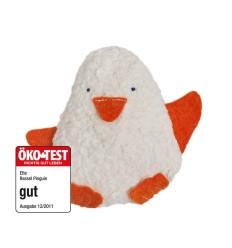 Rassel Pinguin KbA GOTS Efie Öko-Test-Öko Spielzeug-Babies