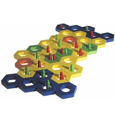 Kraul Bhavati-Spiel-Öko Spielzeug-Naturspielzeug