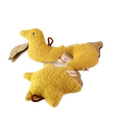 Kallisto Rassel Stern-Öko Spielzeug-Babies