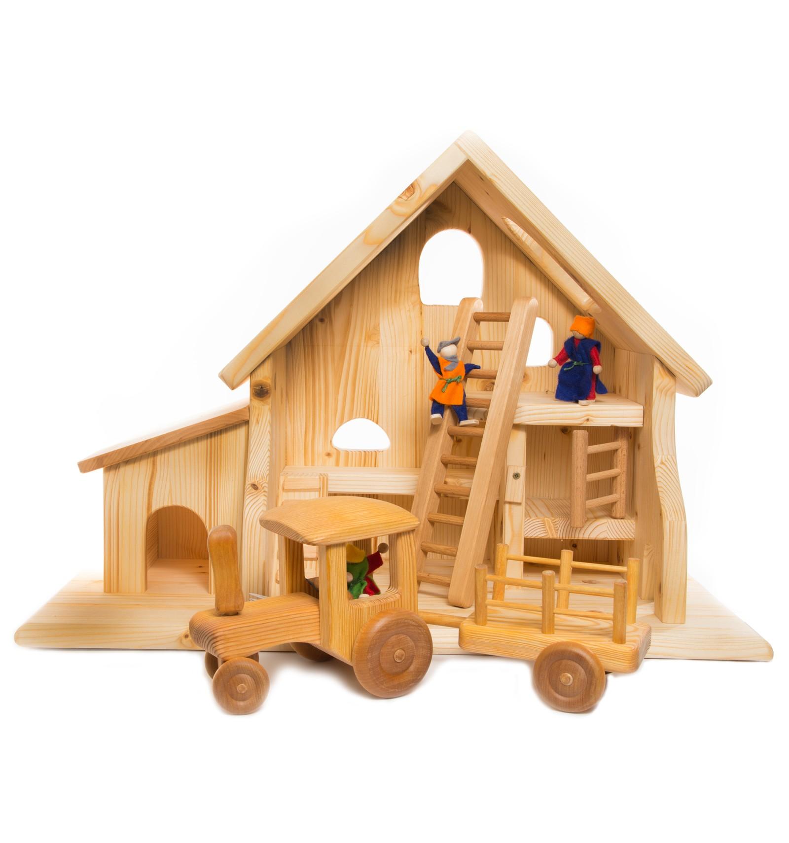 genial holzspielzeug einfach selber machen tierspielzeug. Black Bedroom Furniture Sets. Home Design Ideas