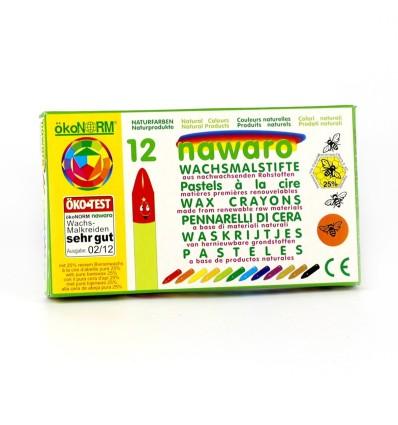 Nawaro Wachskreide - Wachsmalstifte Öko-Test-Öko Spielzeug-Naturspielzeug