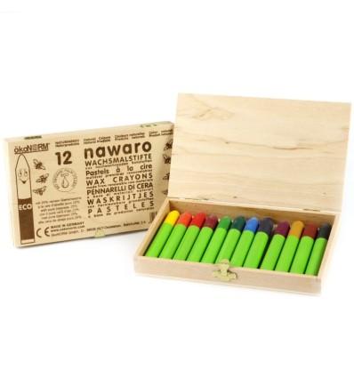 nawaro Wachs-Wichtel in Holzbox-Öko Spielzeug-Naturspielzeug
