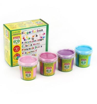 ökoNORM Fingerfarbe Prinzessin - 4er Set