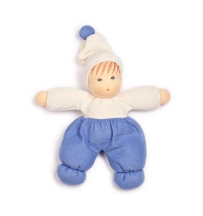 Nanchen Möpschen - Puppe aus Biobaumwolle