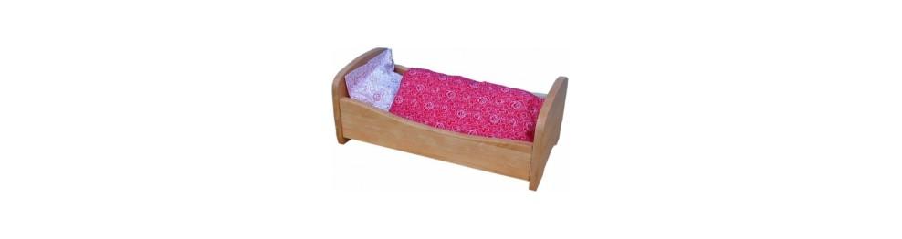 gutes puppen m bel bettchen bio ko spielzeug gr nes spielzeug. Black Bedroom Furniture Sets. Home Design Ideas